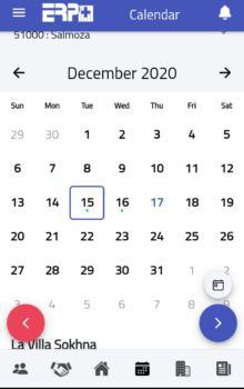 Calendar follow up